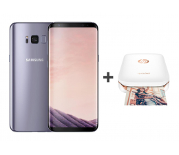 Samsung Galaxy S8+ G955F Orchid Grey + drukarka BT (SM-G955FZVAXEO+Z3Z92A#633)