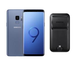 Samsung Galaxy S9 G960F Dual SIM Coral Blue + DeX Pad 2018 (SM-G960FZBDXEO+pad)