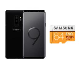 Samsung Galaxy S9+ G965F Dual SIM Midnight Black + 64GB (SM-G965FZKDXEO+MB-MP64GA/EU)