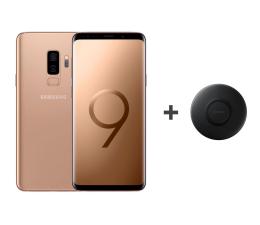 Samsung Galaxy S9+ G965F Gold + ładowarka indukcyjna (SM-G965FZDDXEO+EP-P1100BBEGWW)