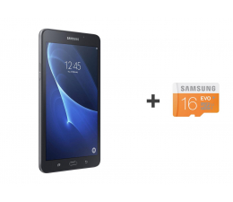 Samsung Galaxy Tab A 7.0 T280 QuadCore/1536MB/24GB czarny (SM-T280NZKAXEO + 16GB mSD)