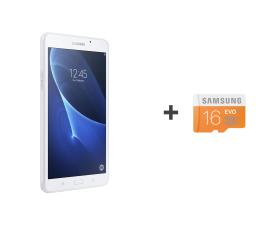 Samsung  Galaxy Tab A 7.0 T285 Quad/1536MB/24GB biały LTE ( SM-T285NZWAXEO + 16GB mSD)