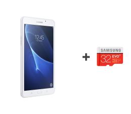 Samsung  Galaxy Tab A 7.0 T285 Quad/1536MB/40GB biały LTE ( SM-T285NZWAXEO + 32GB mSD )