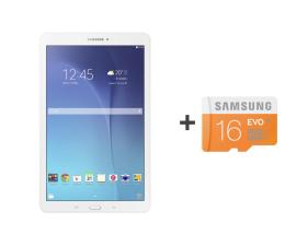 Samsung  Galaxy Tab E 9.6 T560 24GB Android biały  ( SM-T560NZWAXEO + 16GB mSD )