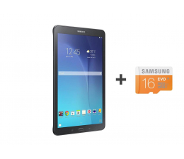 Samsung Galaxy Tab E 9.6 T561 24GB czarny 3G ( SM-T561NZKAXEO + 16GB mSD)