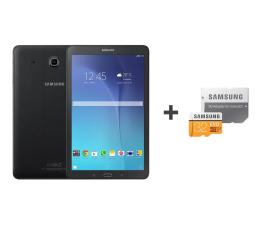 Samsung Galaxy Tab E 9.6 T561 8GB 3G czarny + 32GB (SM-T561NZKAXEO+MB-MP32GA/EU)