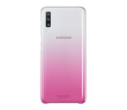 Samsung Gradation cover do Galaxy A70 różowy (EF-AA705CPEGWW)