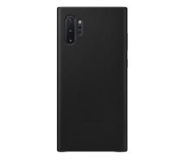 Samsung Leather Cover do Galaxy Note 10+ czarny (EF-VN975LBEGWW)
