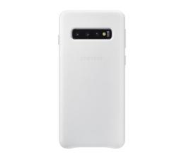 Samsung Leather Cover do Galaxy S10 biały  (EF-VG973LWEGWW)