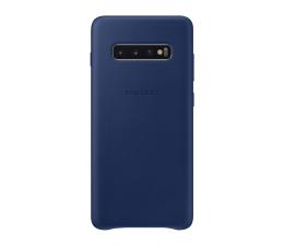 Samsung Leather Cover do Galaxy S10+ granatowy (EF-VG975LNEGWW)