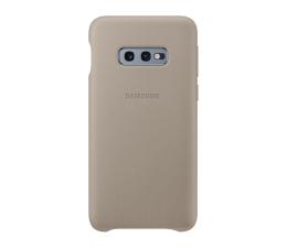 Samsung Leather Cover do Galaxy S10e szary (EF-VG970LJEGWW)