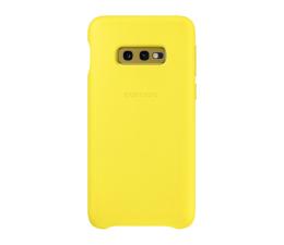 Samsung Leather Cover do Galaxy S10e złóty (EF-VG970LYEGWW)