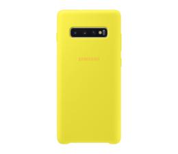 Samsung Silicone Cover do Galaxy S10+ żółty (EF-PG975TYEGWW)