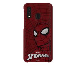 Samsung Smart Cover Marvel Spiderman do Galaxy A40 (GP-FGA405HIBRW)