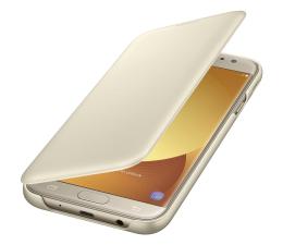Samsung Wallet Cover do Galaxy J7 (2017) Gold  (EF-WJ730CFEGWW)