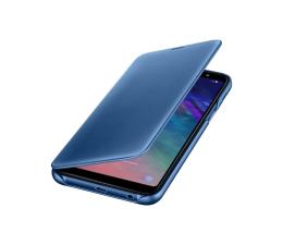 Samsung Wallet Cover do Samsung Galaxy A6+ niebieskie (EF-WA605CLEGWW)