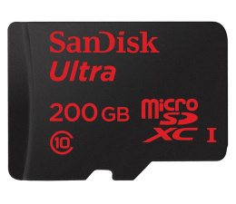 SanDisk 200GB microSDXC Ultra Android Class10 90MB/s  (SDSDQUAN-200G-G4A)