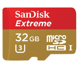 SanDisk 32GB microSDHC Extreme 90MB/s+adapter SD (SDSQXNE-032G-GN6AA)