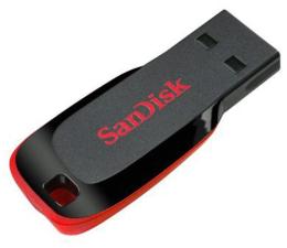 SanDisk 8GB Cruzer Blade (czarny) (SDCZ50-008G-B35)