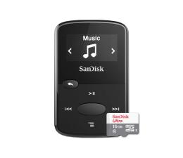 SanDisk Clip Jam 8GB czarny + 16GB microSDHC Ultra (SDMX26-008G-G46K + SDSQUNS-016G-GN3MN)