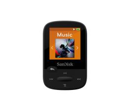 SanDisk Clip Sport 8GB czarny (słuchawki, FM, LCD) (SDMX24-008G-G46K / SDMX24-008G-G46KP)