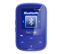 SanDisk Clip Sport Plus 16GB niebieski(bluetooth,tuner FM) (SDMX28-016G-G46B)