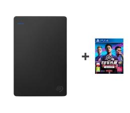Seagate Game Drive PS4 4TB czarny USB 3.0 + FIFA 19  ( STGD4000400 + 5035225121914)