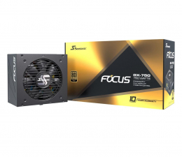 Seasonic Focus GX 750W 80 Plus Gold  (FOCUS-GX-750)