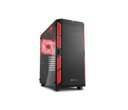 Sharkoon AI7000 Glass Red (4044951020782)