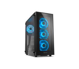 Sharkoon TG5 Glass Blue (4044951020584)
