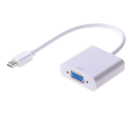 SHIRU Adapter mini DisplayPort do VGA (D-SUB)  (SMDPVGA-01)