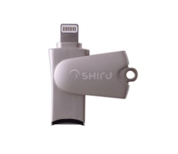 SHIRU Czytnik kart microSD - Lightning do iPhone / iPad (SCRL-01)