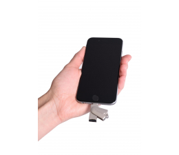 SHIRU Czytnik kart microSD - Lightning do iPhone / iPad (SCRL-01)