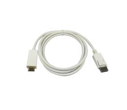 SHIRU Displayport (M)->HDMI (M) 1,8m biały (SDPH-01W)