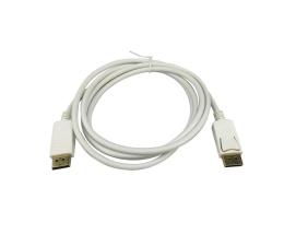 SHIRU Displayport M/M 1,8m 1080p biały (SDPD-01W)