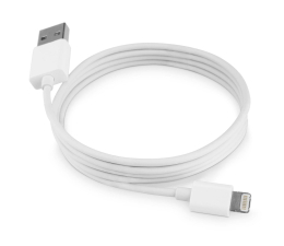 SHIRU Kabel do iPhone, iPad (Lightning) 1,2m biały (SLI-01)
