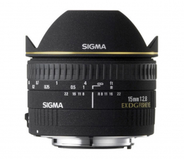 Sigma 15mm f/2.8 DG EX rybie oko Nikon (OSN15/2.8EXDG)