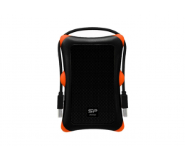 Silicon Power 1TB Armor A30 czarno-pomarańczowy USB 3.0 (SP010TBPHDA30S3K)