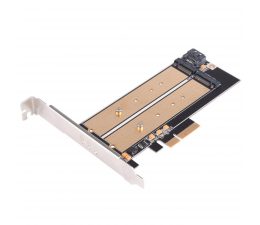 SilverStone PCIe x4 - 2xM.2 (SST-ECM22)