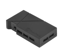 SilverStone RGB-LED-Hub + 2xLED czarny (SST-LSB01)