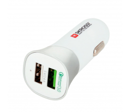 SKROSS Ładowarka samochodowa USB 2,4A + Q.C. 3.0 (2.900615)