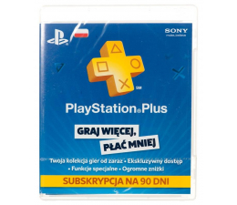 Sony Karta Playstation Plus 90 dni (9235644)