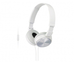 Sony MDR-ZX310AP Białe (MDRZX310APW.CE7)