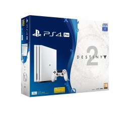 Sony Playstation 4 1TB PRO WHITE Destiny 2 Premium
