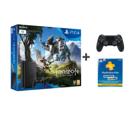 Sony PlayStation 4 1TB Slim +Horizon +PS PLUS 90 +PAD (D Chassis)