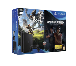 Sony PlayStation 4 1TB Slim+ Horizon + Uncharted Lost (711719839767)