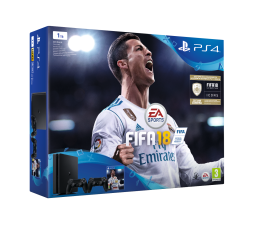 Sony Playstation 4 1TB Slim + Pad + FIFA 18 Special (711719915768)