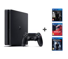 Sony PlayStation 4 1TB SLIM +Uncharted 4 + DC +TLOU