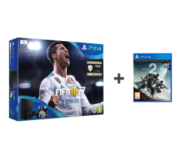 Sony Playstation 4 1TB Slim+FIFA 18 Special+DESTINY 2  (E-Chassis)