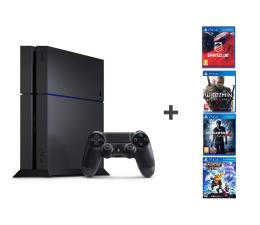 Sony Playstation 4 1TB + UC4 + R&C + DC + W3